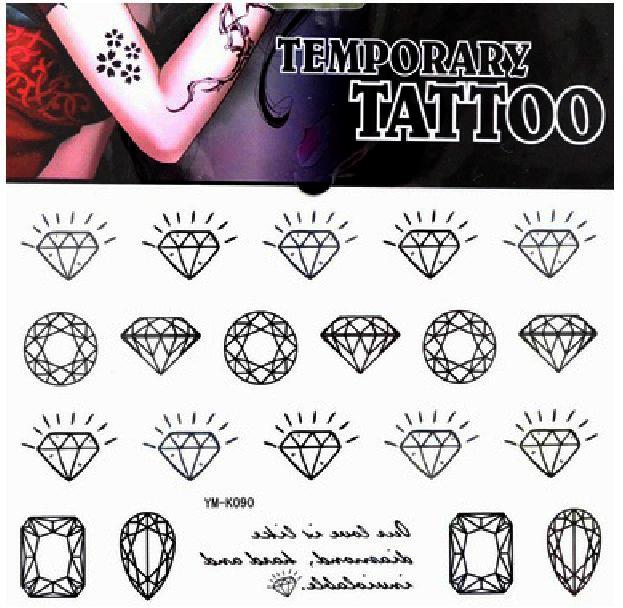 frei schiff 5 st ck menge ym k090 fake tattoos auf. Black Bedroom Furniture Sets. Home Design Ideas
