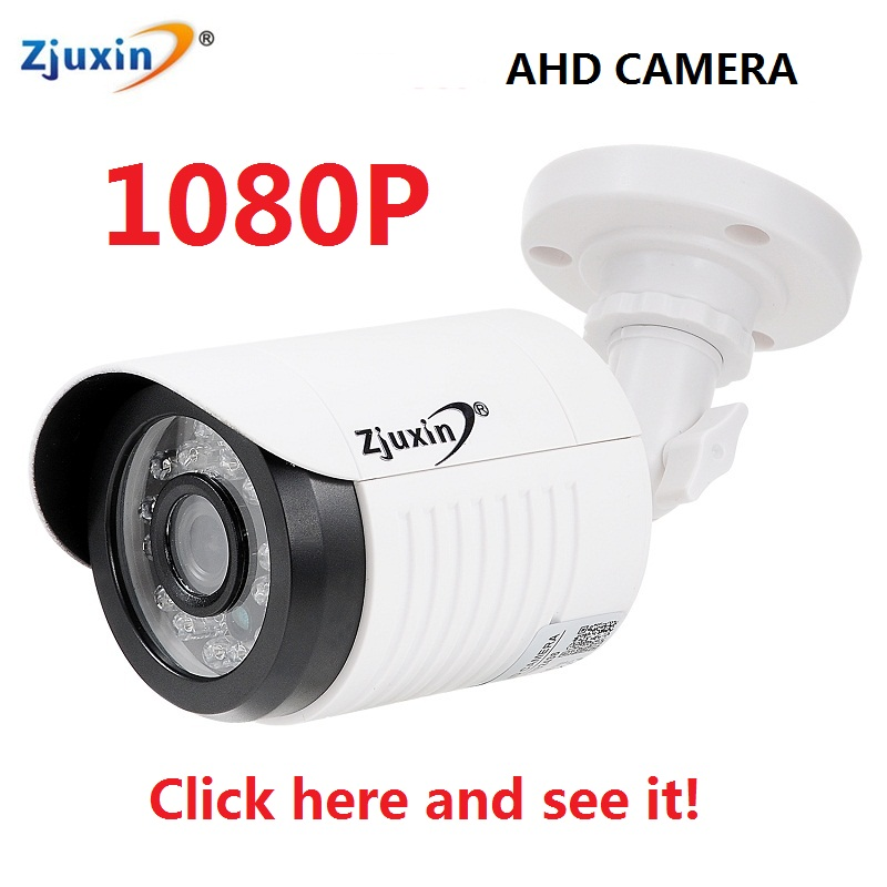 1PC Zjuxin ahd camera 1080p 5*24 LED ahd 2mp camera with HD 3.6mm 1080p ahd camera lens and hd security CCTV Cam for you(China (Mainland))
