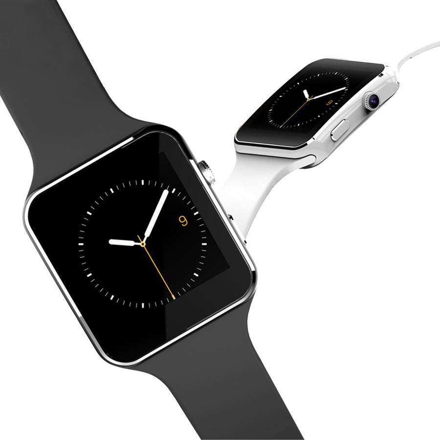 New Smartwatch X6 Bluetooth Smart Watch For IOS Android Phone Wristwatch Support SIM TF Card SMS Camera Reloj Inteligente 8977<br><br>Aliexpress