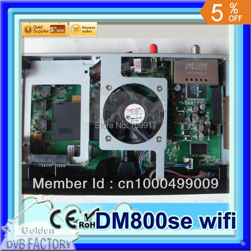 DVB 800se hd digital satellite receiver BCM4505 | Set top box 800 se 800hd se| dm800hd receiver with wifi (1pcs 800se wifi)(China (Mainland))