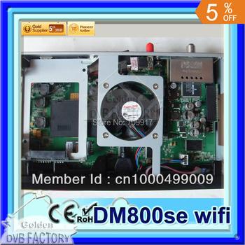 DVB 800se hd digital satellite receiver BCM4505 | Set top box 800 se 800hd se| dm800hd receiver with wifi (1pcs 800se wifi)