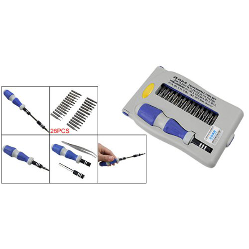 Hot Sale! 29 in 1 Plastic Stee Magnetic Slotted Philips Torx Screwdriver Set(China (Mainland))