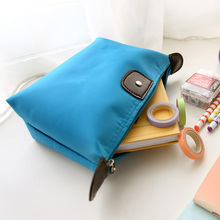 6 Colors High Quality Lady MakeUp Pouch Cosmetic Make Up Bag Clutch Hanging Toiletries Travel Kit