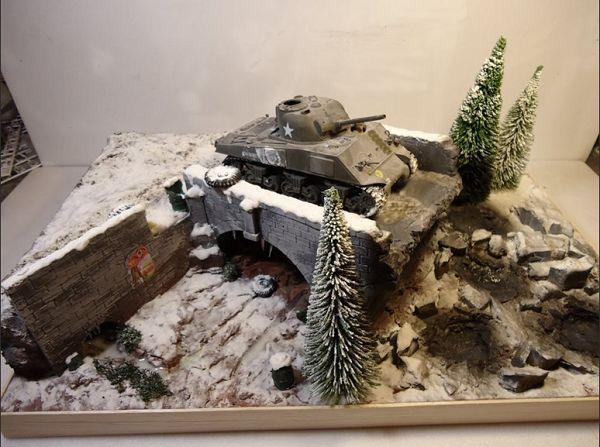 FOV 1:32 WWII series artistic scene Veyron 1:35 Stalingrad finished model FM