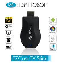 2016 Hot Sale EzCast M2 TV Stick HDMI 1080P Miracast DLNA Airplay WiFi Display Receiver Dongle Support Windows iOS Andriod(China (Mainland))