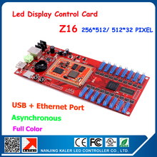 Promotion !! Kaler Z16 Video LED display card full color led screen video card network communication controller led control card(China (Mainland))