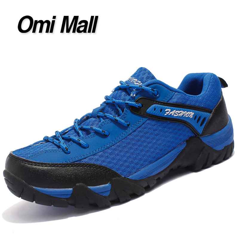 2016 New Arrival Air Mesh Men Hiking Shoes Athletic Waterproof Men Outdoor Shoes Anti-skid Breathable Men Shoes,8 Colors!(China (Mainland))