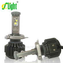 Newest H4 HB2 9003 Led CREE Hi/Lo H4-3 High Power 40W 4000lm 3000K 6000K Strong Bright Car Headlight Fog Light Conversion kit