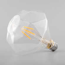 Vintage Retro Edison E27 G125 Antique Efficient Filament Incandescent 220V/4W Practical Home Light Lamp Decor Bulb Decoration(China (Mainland))
