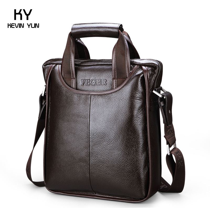 2013 new fashion men genuine leather bags designer brand handbags man vintage briefcase natural leather bags for man<br><br>Aliexpress