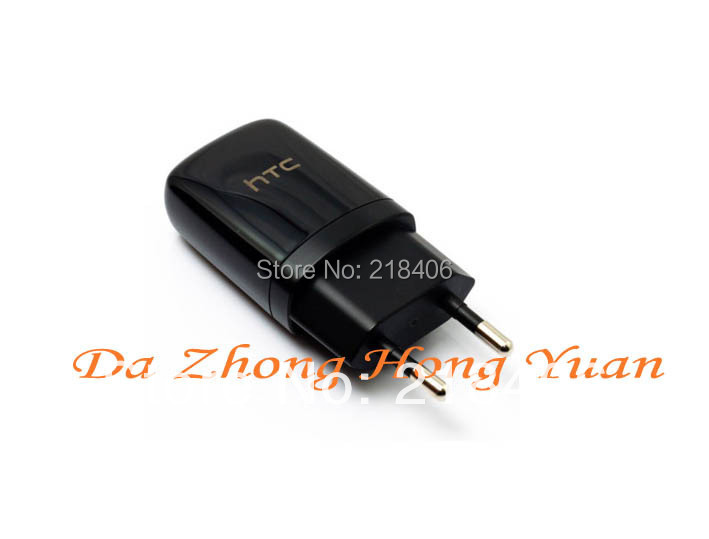EU Charger black travel USB wall charger HTC Samsung galaxy s45V 1A mobile phone chargers - Shenzhen E-may Electronic Company store