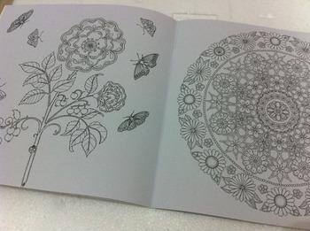 [ 18 * 18 см 24 P ] секрет сады раскраски для снятия стресса игрушки живописи книги китайская версия 1 шт./лот с бесплатная доставка