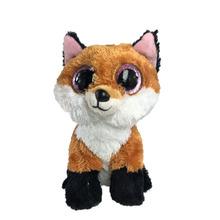 Ty Beanie Boos Original Big Eyes Plush Toy Doll Child Birthday Husky Cat Owl Unicom TY Baby 10-15cm WJ159(China (Mainland))