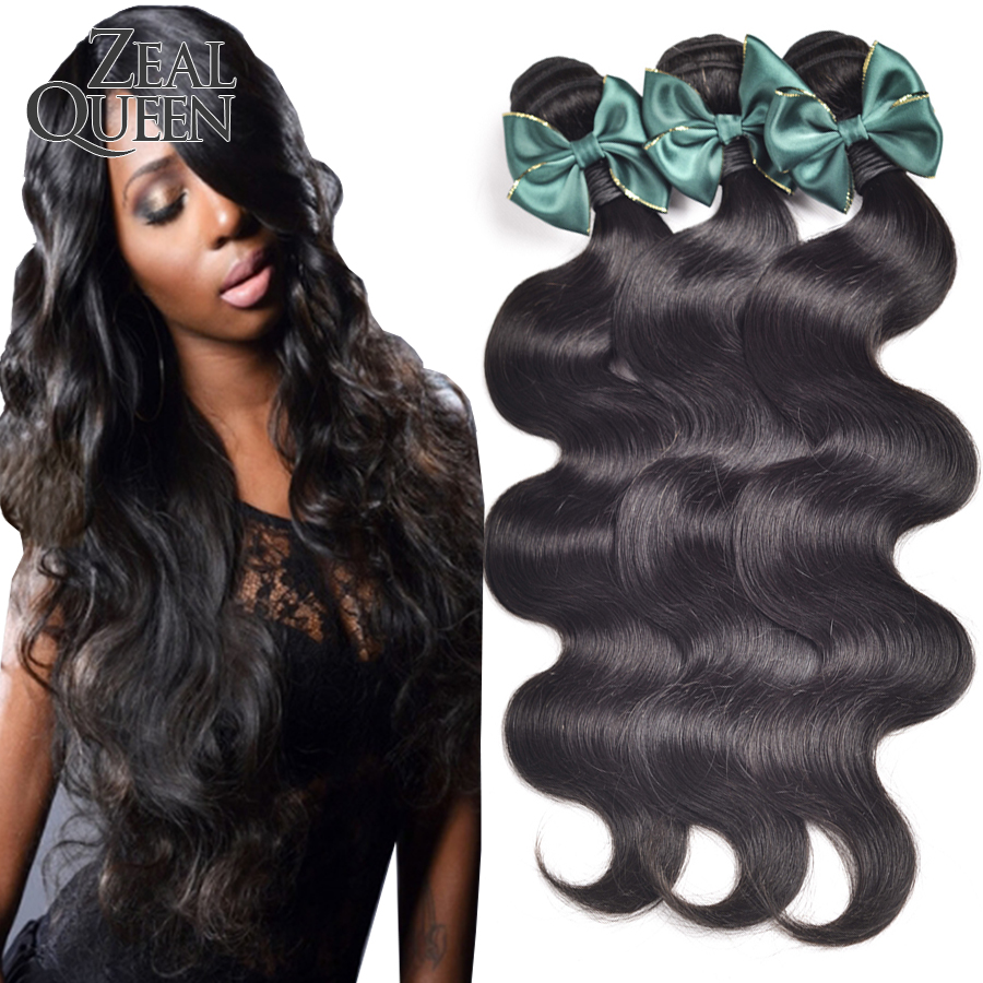 brazilian virgin hair extension brazilian body wave 3 bundles human hair weave queen weave beauty no shedding no tangle