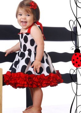 2013 Summer New, kids girl's black polka dot shoulder-straps princess dress, one piece sleeveless cute party dress free shipping