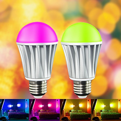 10PCS Wireless Led Light Bulb WiFi/WiFi Smart LED Light Bulb Works with Apple Iphone, Ipad and Android Phone(China (Mainland))