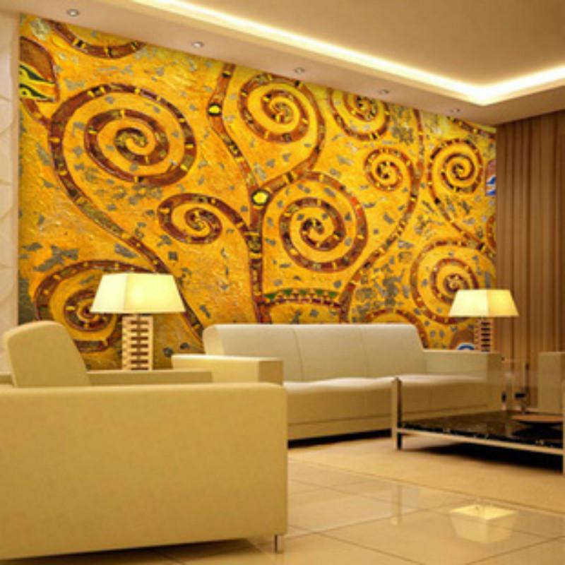online kaufen gro handel abstrakte blumentapete aus china abstrakte blumentapete gro h ndler. Black Bedroom Furniture Sets. Home Design Ideas