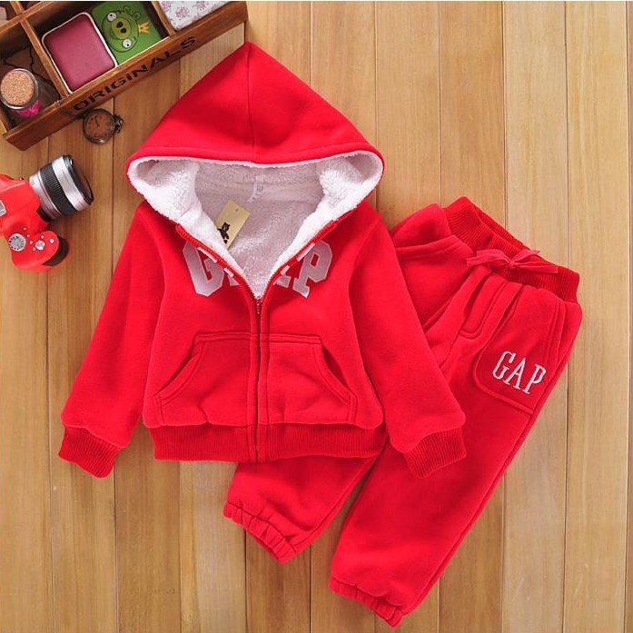 Boys Girls Baby sweat suits Children Hoodies Winter Lambs wool Thicken Kids Clothes Sets New Sports Jacket Sweater Coat &amp; Pants<br><br>Aliexpress