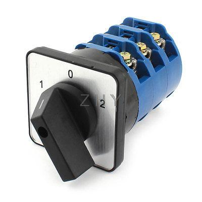 660V 125A 3Pole 3Position Universal Cam Changeover Rotary Switch<br><br>Aliexpress