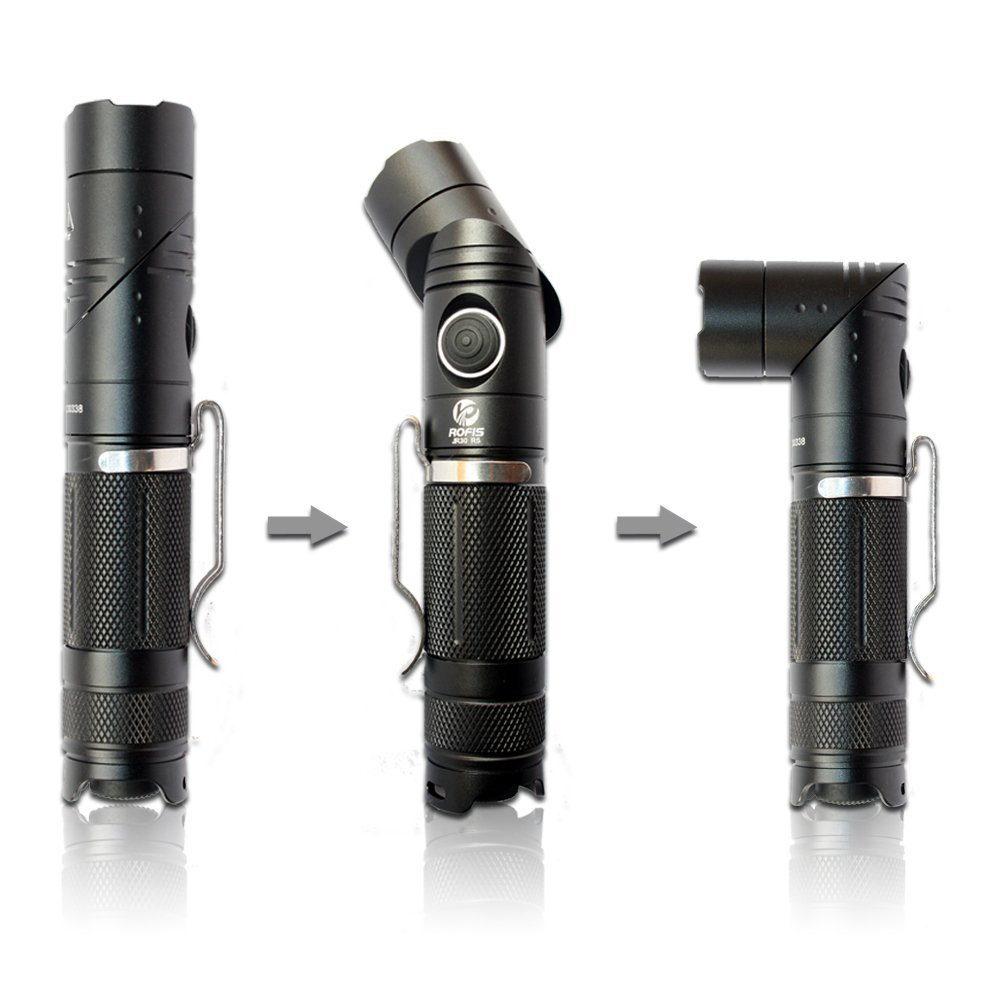 High Quality Rofis JR30 CREE XP-G2 LED AA Battery Flashlight & Lamp/Light Adjustable Angle Torch Lamp 210 Lumens for Camping(China (Mainland))