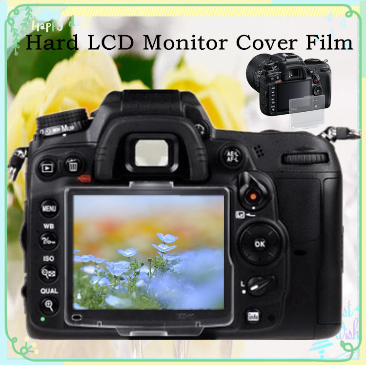 New Hard LCD Monitor Cover Screen Protector Film For Nikon D80 Camera AS BM-7 Free Shipping Russia Brazil With Tracking NO.30pcs(China (Mainland))