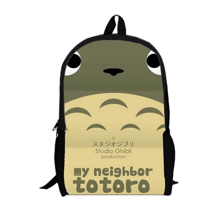 16-inch multifunction cartoon Totoro backpack shoulder bag personalized backpack schoolbag T14(China (Mainland))