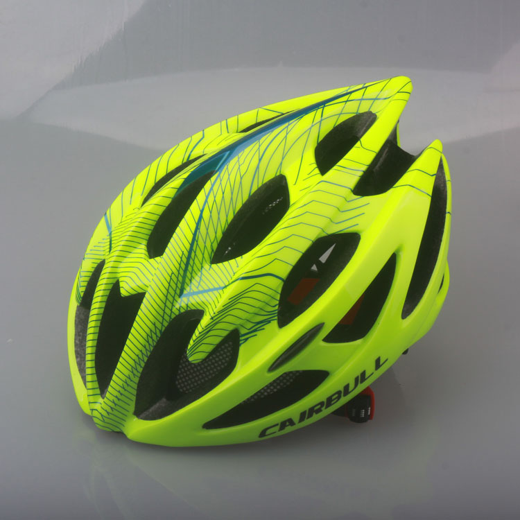 Fluorescent green CAIRBULL helmet bicycle helmet mountain bike riding helmet integrally molded male and female(China (Mainland))