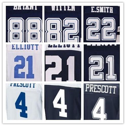 mens jerseys 50 Jason 22 Emmitt 82 Jason 88 Dez blue white thanskgving(China (Mainland))