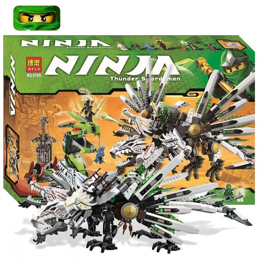 Фотография Original Legoelieds Ninjagoed Epic Dragon Battle building bricks fot toddlers 2016 best minifigures blocks kits toys 4