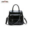 2016 High quality cowhide genuine leather women s handbag shoulder bag cross body bag female leather
