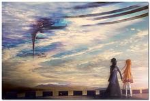 Sword Art Online Kirito & Asuna Japan Animation Silk Poster 24×36″
