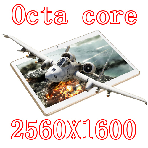 10.1 inch 8 core Octa Cores 2560X1600 IPS DDR 4GB ram 16GB 8.0MP 3G Dual sim card Wcdma+GSM Tablet PC Tablets PCS Android4.4 7 9(China (Mainland))