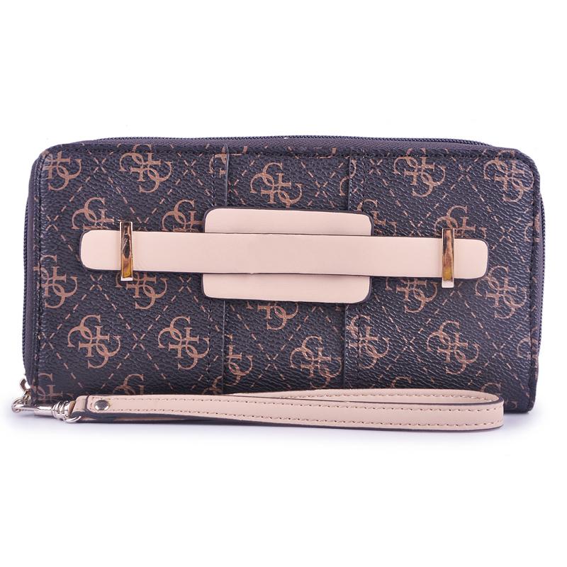 2016 New fashion monederos zipper wallet women clutch(China (Mainland))
