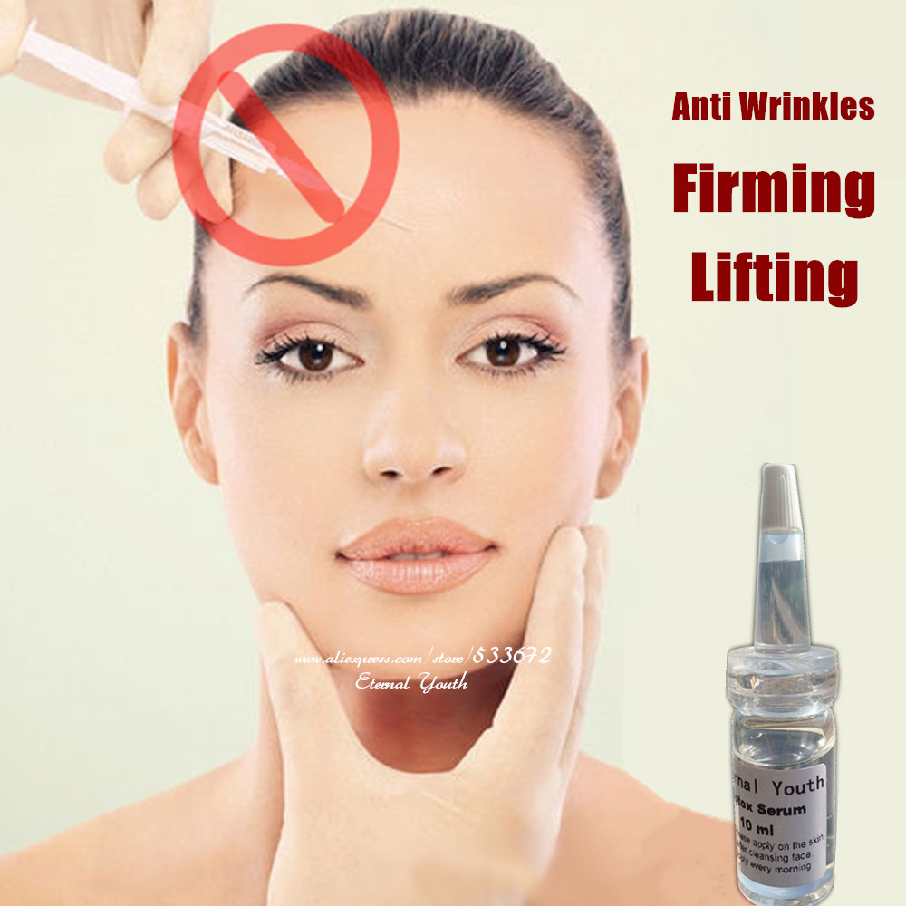 10ml Boto x Ageless Face Firming Lifting Serum Anti wrinkle Anti aging Skin Care Botulinum Concentrate