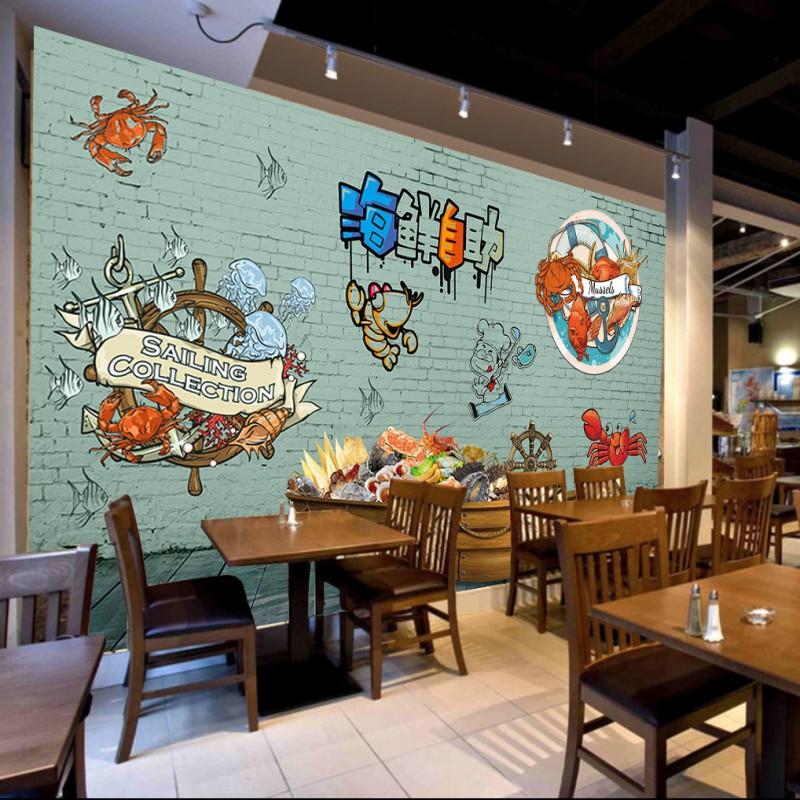 Seafood restaurants promotion shop for promotional