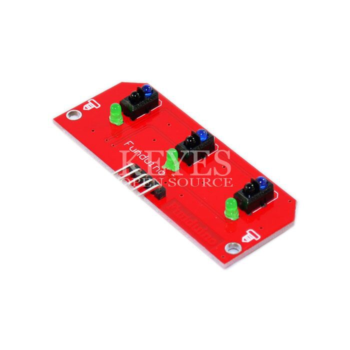 3-way tracking module / hunt modules / For ARDUINO robot accessories free shipping drop shipping(China (Mainland))
