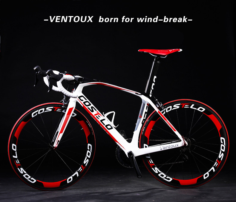 TOP SALE ! 2015 T1000 bicicleta carbono full carbon road bicycle Costelo Ventoux carbon road bicycle complete cheap road bikes(China (Mainland))