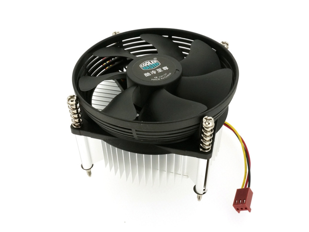 Cooler Master A93 CPU Cooler 95mm Cooling fan With Round Heatsink For CPU Socket LGA775(China (Mainland))
