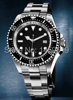2014 NEW Luxury Brand Men s Deepsea Sea Dweller Fashion Automatic Movement Watches Stainless Steel Men