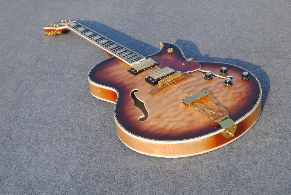 beautifu and wonderful 335 custom-made electric guitarra free shipping Direct Manufacturer guitar custom shop(China (Mainland))