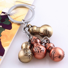 4pcs/set Colorful Naruto Gaara Metal Gourd Keychain Japan Anime Collection Toys Kids Gifts With Nice Package #F