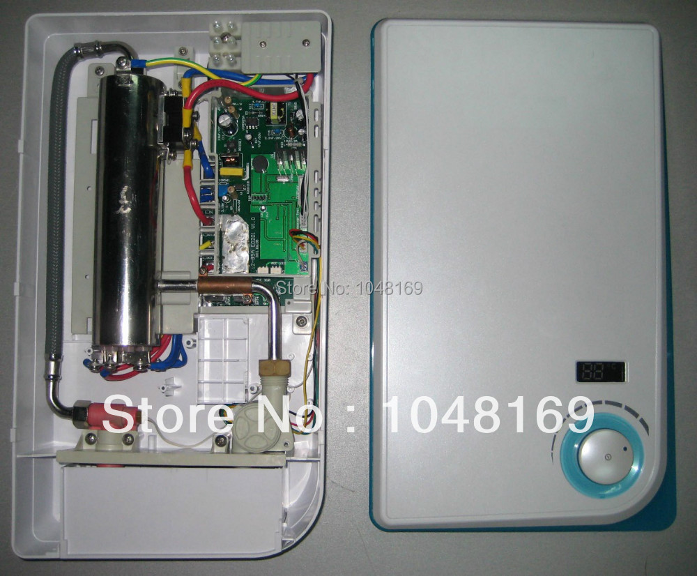 Electric Tankless Water Heater Shower : Etl certified electric tankless hot shower water heater