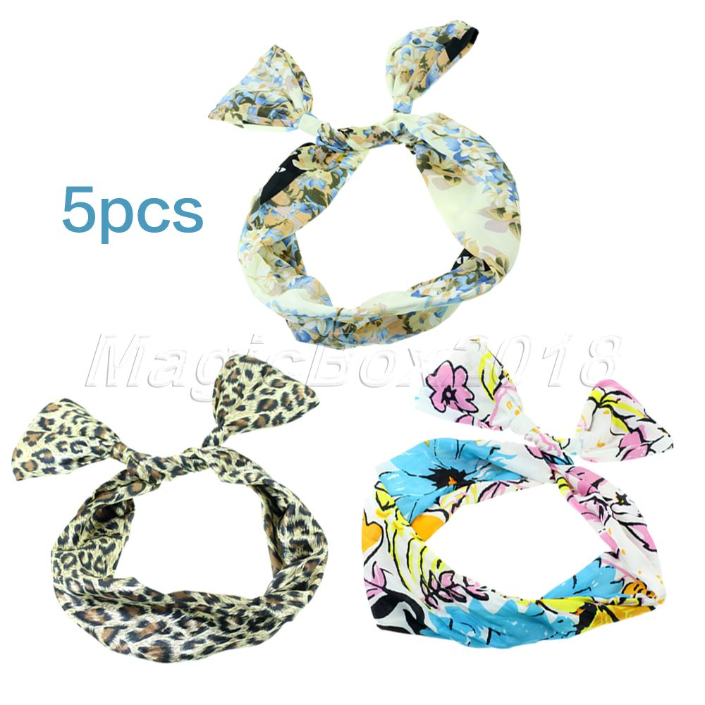 Аксессуар для волос New brand 5PCS Rabbit ear Metal Tie Bow