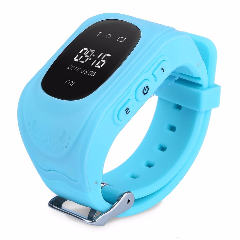 image for Q50 Smart Phone Watch Kid Wristwatch Anti Lost GPS Tracker Watch For K