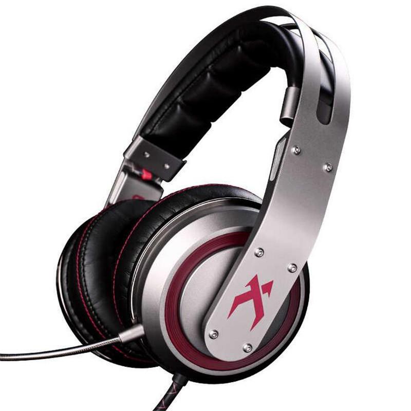 Фотография XIBERIA T19 Game Earphone LED Light Stereo Headband Glowing PC Gamer Headphones Super Bass 7.1 Usb Vibration Headphones With Mic