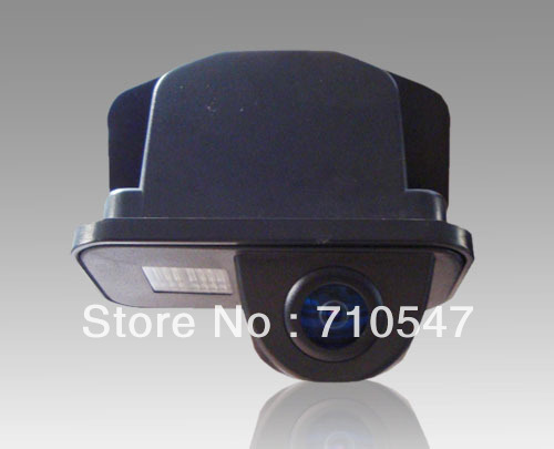 Water proof 170 dgree Toyota Avensis T25 T27 rear view back up camera reverse system with parking line(China (Mainland))