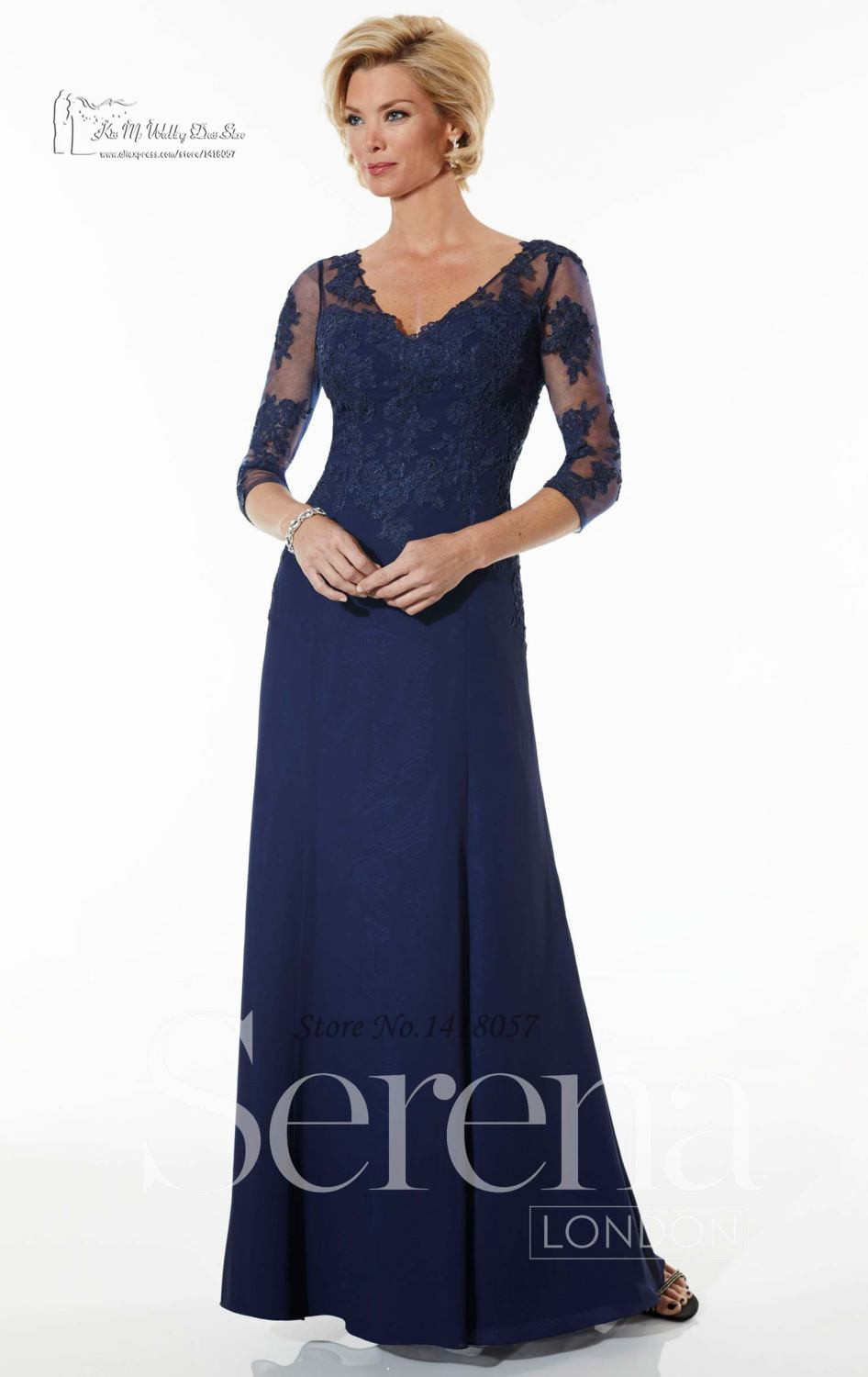 Plus size navy blue mother of the bride dresses wedding for Custom made wedding dresses dallas
