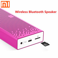 2015 latest listed Original brands portable Wireless Bluetooth Speaker For xiaomi stereo subwoofer biggest support 32 gb TF card