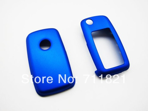 MK6 Remote Key Cover Metallic Blue For Volkswagen For VW(China (Mainland))