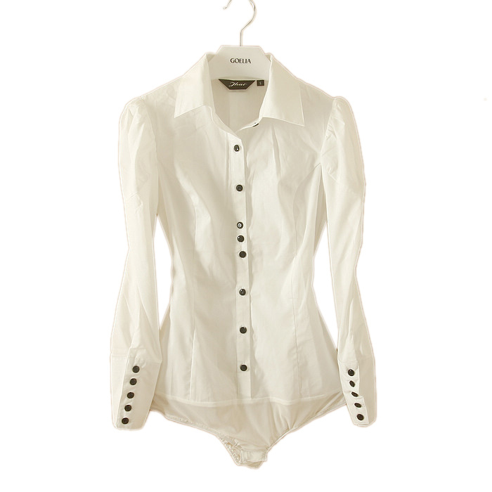 New Com  Buy 2015 New Shirt Women Blouses Long Sleeve White Blouse
